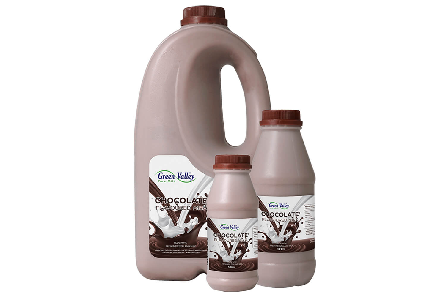 We've launched a new look label for our chocolate flavoured milk