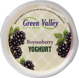 Boysenberry Yoghurt
