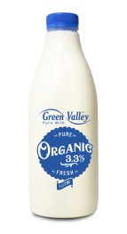 Organic 3.3% Fat Fresh Milk